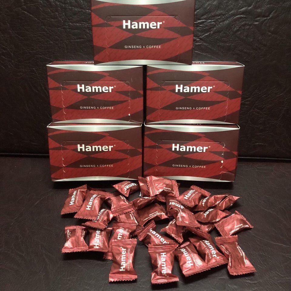 KẸO SÂM HAMER - HAMER CANDY - HAMER CANDY GINSENG COFFEE